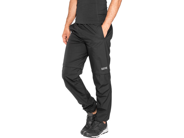 GORE WEAR R3 Gore Windstopper Zip-Off Pants Men black